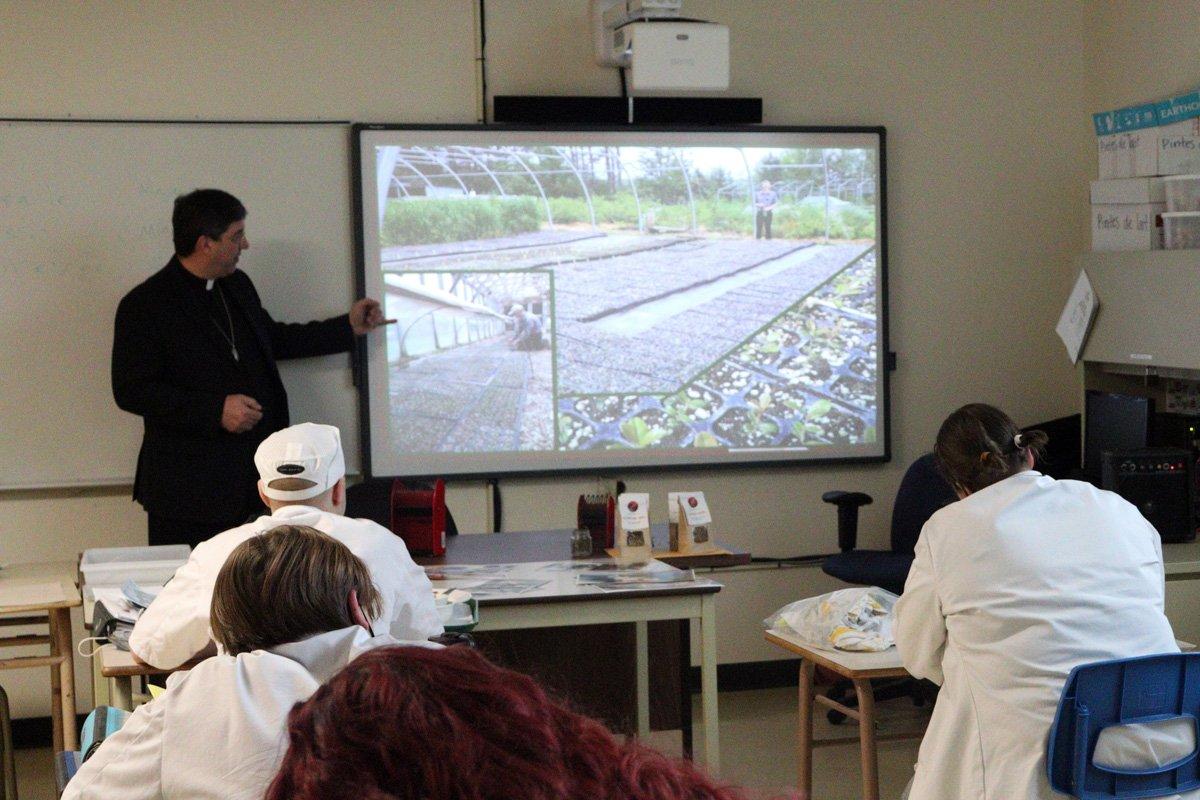 2021-02-05 Présentation à l'École Hôtelière de la Capitale